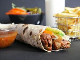 National Kebab Day Mono Wraps Holloway London